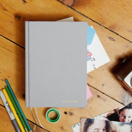 Personalised Our Life Story Diary
