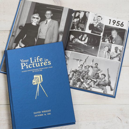 Personalise Your Life In Pictures Book