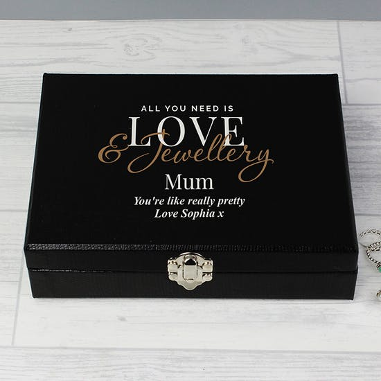 Personalised Large Jewellery Box
