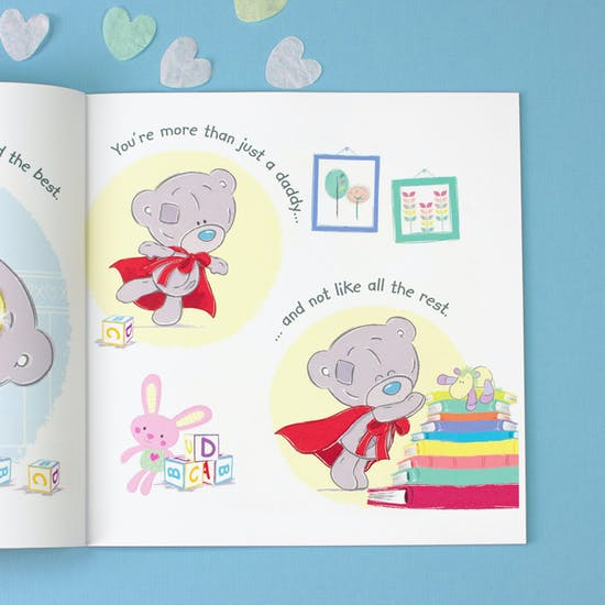 Personalised I Love You Daddy Book