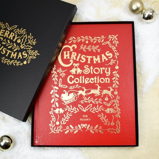 Personalised Luxury Christmas Story Collection