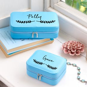 Personalised Sweet Metallic Travel Case