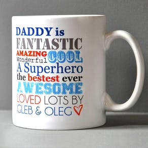 Dads Personalised Outdoor Adventure Mug