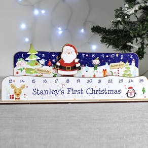 Personalised Make Your Own Santa Countdown