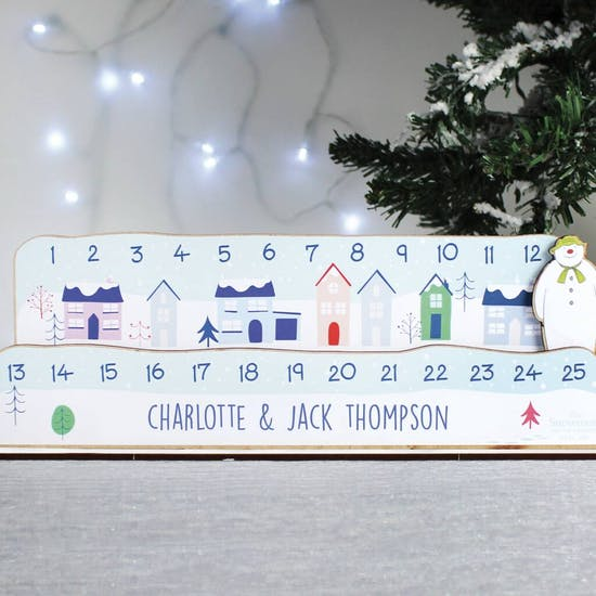Personalised Make Your Own Snowman Advent