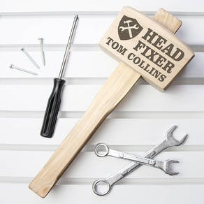 Personalised Head Fixer Mallet