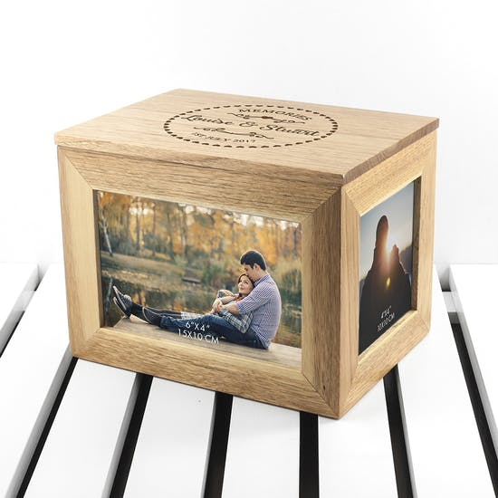 Personalised Memories Photo Keepsake Box