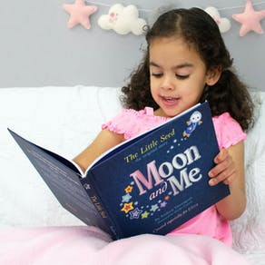 Personalised Moon And Me Book