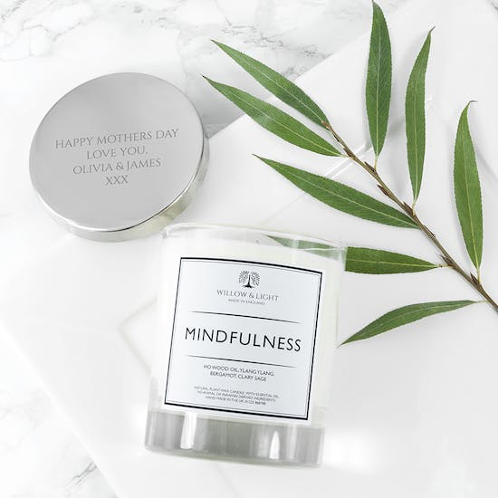 Personalised Mindfulness Candle