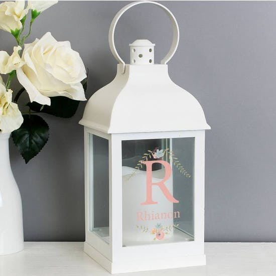 Personalised Monogram Light up Lantern