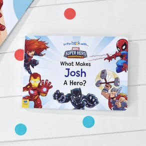 Personalised Marvel What Makes Me A Hero