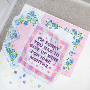 Personalised Mothers Day Handkerchief