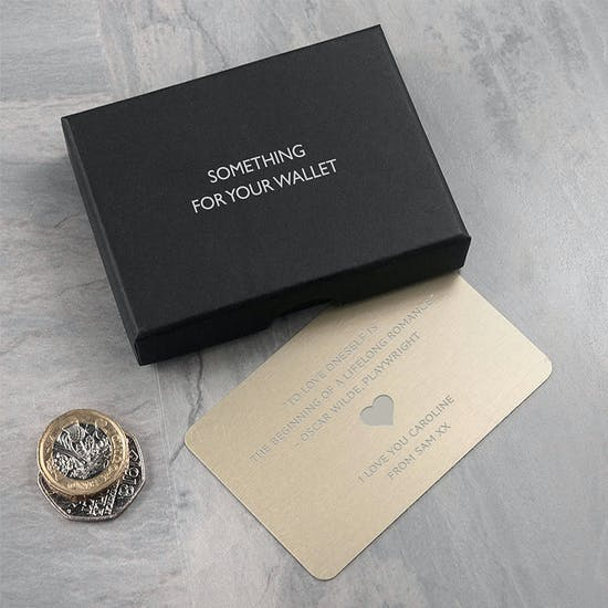 Personalised Wallet Keepsake