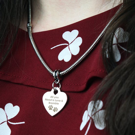 Personalised Necklace From The Dog