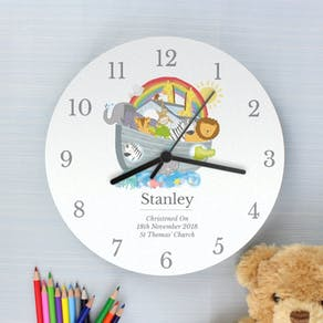 Personalised Noah's Ark Clock