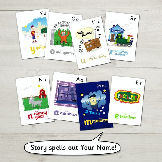 Personalised Name Story Book