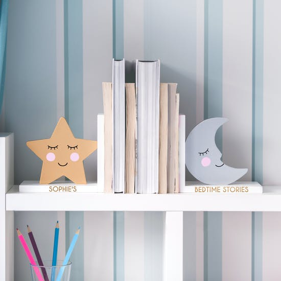 Personalised Nursery Bookends