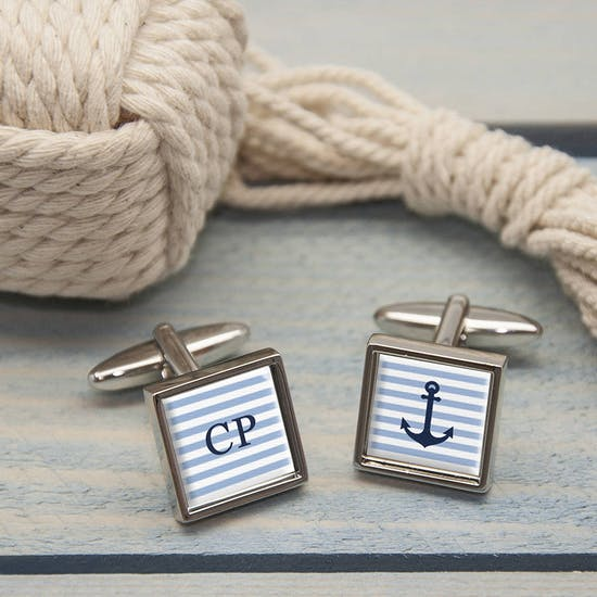 Personalised Nautical Cufflinks