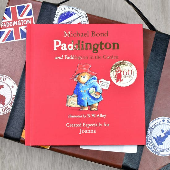 Personalised Paddington Bear Giftboxed Book