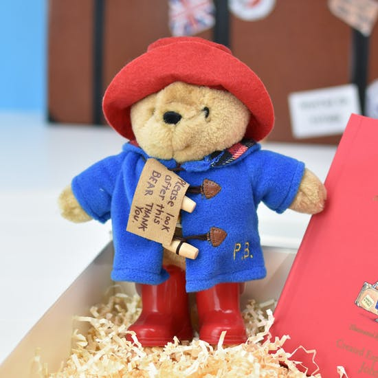 Personalised Paddington And Toy Luxury Giftboxed