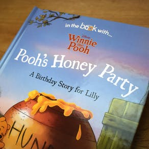 Personalised Pooh's Honey Party Storybook