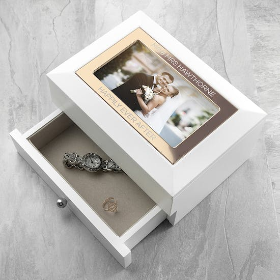 Personalised Photo Jewellery Chest