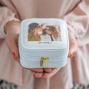 Personalised Photo Jewellery Travel Case