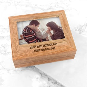 Personalised Photo Keepsake Box