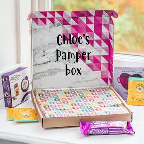 Personalised Pamper Letterbox Hamper
