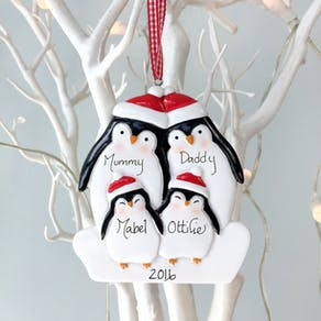 Personalised Bird Decoration