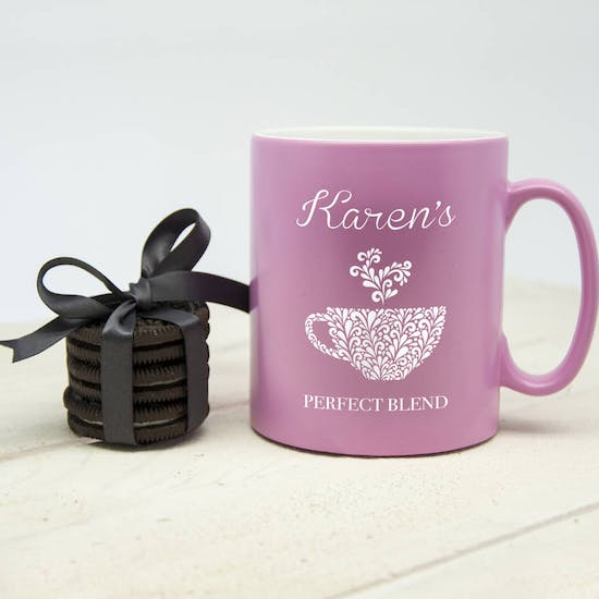 Personalised 'Perfect Blend' Mug