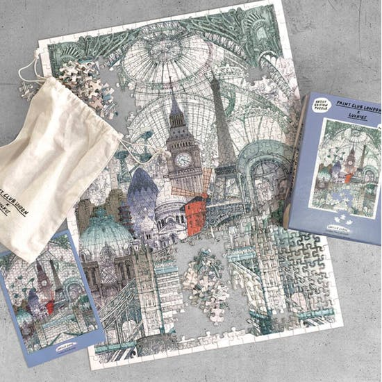 London Paris and Brussels Jigsaw Puzzle