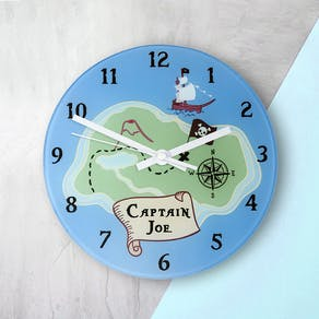 Personalised Arrrr! Pirate Wall Clock