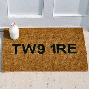 Personalised Postcode Door Mat