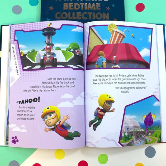 Personalised Paw Patrol Bedtime Story Collection