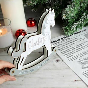 Personalised Make Your Own Rocking Horse Decoration