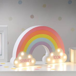 Personalised Rainbow LED Light