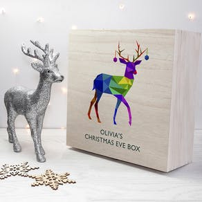 Personalised Reindeer Christmas Eve Box