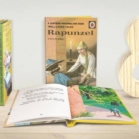 Personalised Rapunzel Story Book