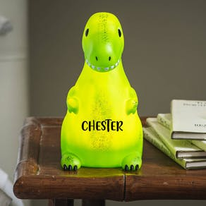 Personalised Roarsome Dinosaur Night Light