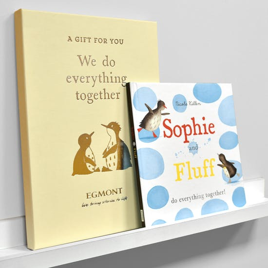Personalised Siblings Book