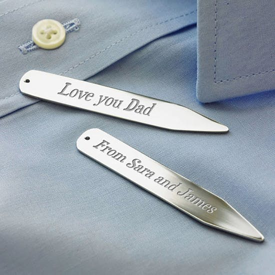 Personalised Secret Message Collar Stiffener