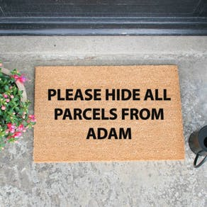 Personalised Shopping Doormat