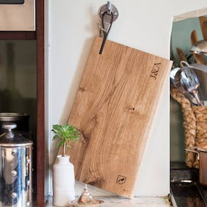 Personalised Solid Oak Chopping Boards