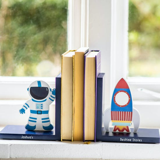 Personalised Space Bookends