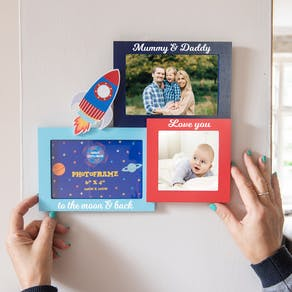 Personalised Space Explorer Photo Frame