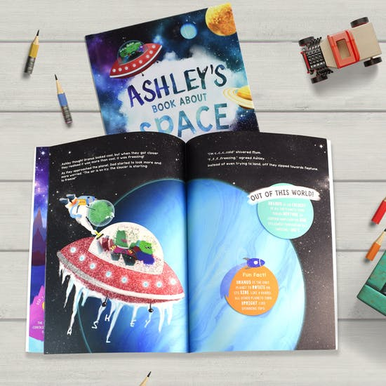 Personalised Space Book