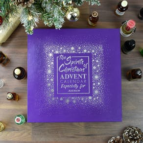 Personalised Luxury Spirits Advent Calendar Box