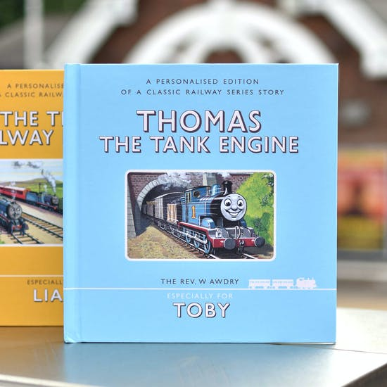 Personalised Set Of Two Thomas Books