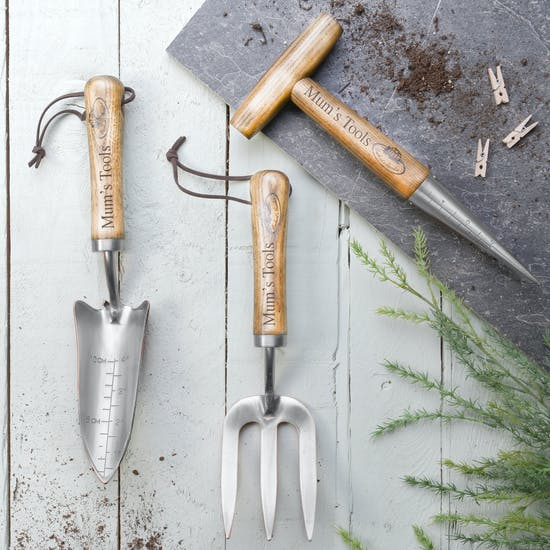 Personalised Stainless Steel gardening Tools